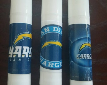 San Diego Chargers Football Set of 3 Chapsticks