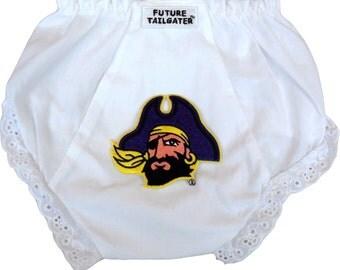 East Carolina Pirates Baby Diaper Cover