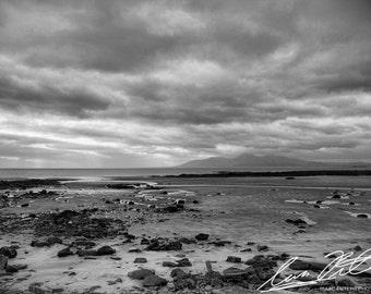 Ireland Coast | Black and White | Fine Art Photography | Irish Countryside | Coastal Scenary