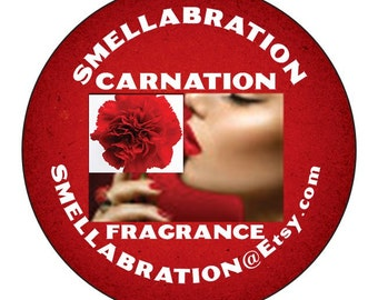 CARNATION PERFUME DELIGHT * 5ml Atomizer or 10ml Glass Rollon* Botanical Perfume*Natural Fragrance*