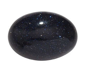 Blue Goldstone Synthetic Loose Gemstone Oval Cabochon 1A Quality 20x15mm TGW 13.20 cts.