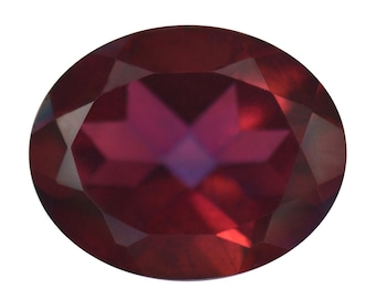 Mystic Savage Red Quartz Oval Cut Loose Gemstone 1A Quality 10x8mm TGW 2.10 cts.