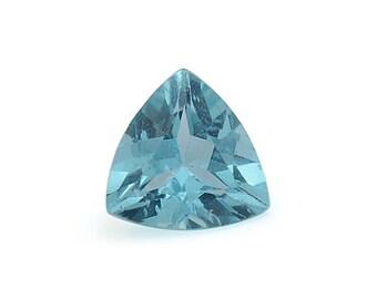 Green Apatite Trillion Cut Loose Gemstone 1A Quality 5mm TGW 0.35 cts.