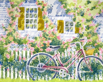 The Pink Bicycle