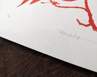 Tammy Ratcliff Letterpress Print