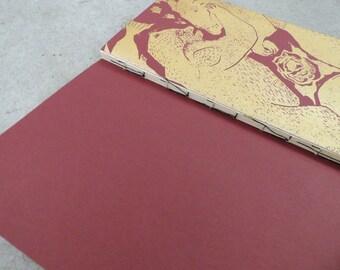 Fighting Bear Silkscreen Notebook