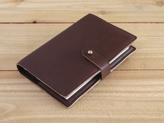 Wingate - 4X6 Refillable Brown, Handmade Leather Journal
