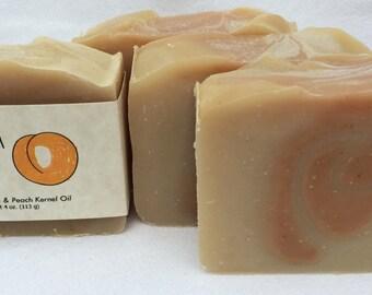 Georgia Peach Soap featuring Turmeric and Peach Kernel Oil