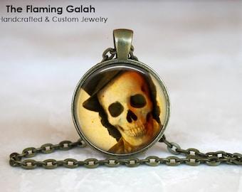SKELETON Pendant • English Gentleman Skeleton • Gothic Anatomy • Gift Under 20 • Made in Australia (P1162)