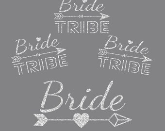 Bridal Bundle Arrows of Love Iron On Decals