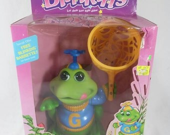 Vintage blinkins New in box grog the frog