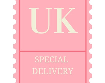 UK Special Delivery Postage Upgrade