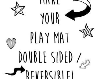 Make your Play Mat Reversible!
