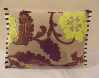 Designers Guild Velvet Khasikov Coca Cushion Cover