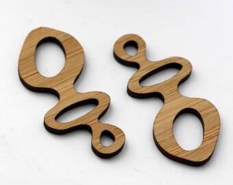 2 Mod Figure Beads : Bamboo