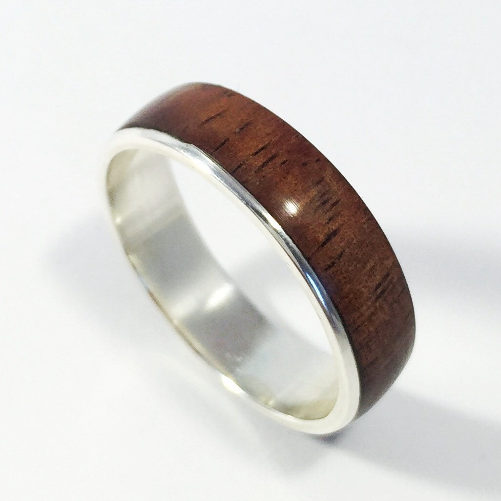 Wood Mens Wedding Bands: Mens Wood Wedding Band Wood Ring Wood Wedding Ring Mens