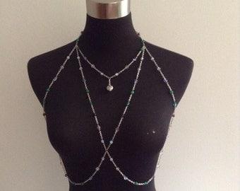 acrostic body harness - ODI ET AMO