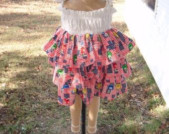 M&Ms Fourth of July Dress