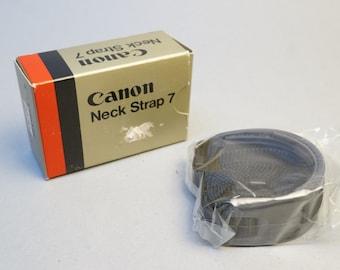 Canon Neck Strap 7 in the box vintage