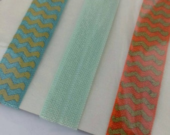 Elastic Hair Ties, Girls Hair Ties, FOE Hair Ties, Toddler Accessories, Women's Accessories-F-03