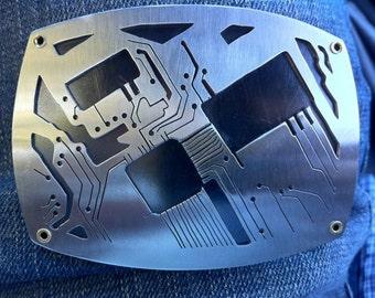 Circuit Board Belt Buckle