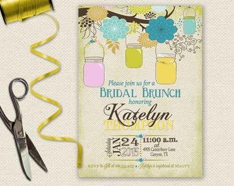 Bridal Luncheon Invitation, Bridal Brunch Invitation, Bridal Shower Invitation, Bridesmaid Luncheon Invitation, Bridesmaids Brunch
