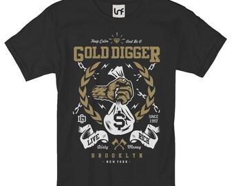 Gold Digger Men's T-Shirt (SB1045)