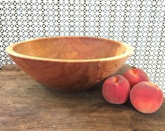 Large Paper Birch Bowl
