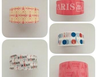 Plastic tape, paris, 1, 5 cm wide 2 meters long