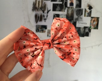Pink blossom Bow
