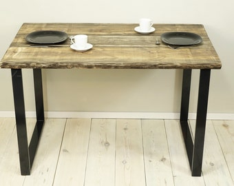 reclaimed wood table,  planks dining table, sofa table, Table Bench, industrial table, handmade table
