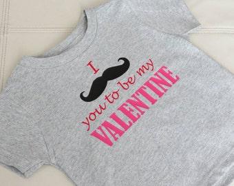 Mustache Valentine's Day Shirts, Boy Valentine's Day, Toddler Valentine's Day Shirt, Kids Valentine's Day Shirt, Youth Valentine's Infant