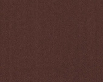 Remnant - Solid Brown Polar Fleece Fabric 11in