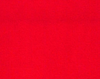 Fabric by the 1/2 Yard - Solid Red Anti-Pill Fleece Fabric