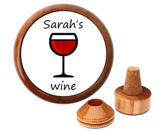 Personalized Wine stopper. Wine gifts. Wife gift ideas for Wife. Birthday ideas for Wife. Birthday present for wife.