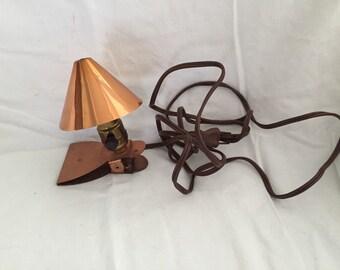 1950's to 60's Copper Night Light