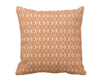 SALE | 50% OFF: 16x16 Pillow Cover Burnt Orange Pillow Covers Burnt Orange Throw Pillow Cover Retro Pillows Retro Decor Decorative Pillows