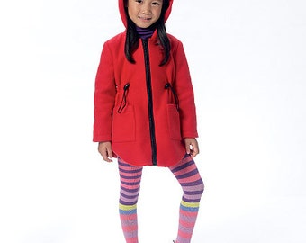 Butterick Pattern B6279 Children's/Girls' Vest and Jacket