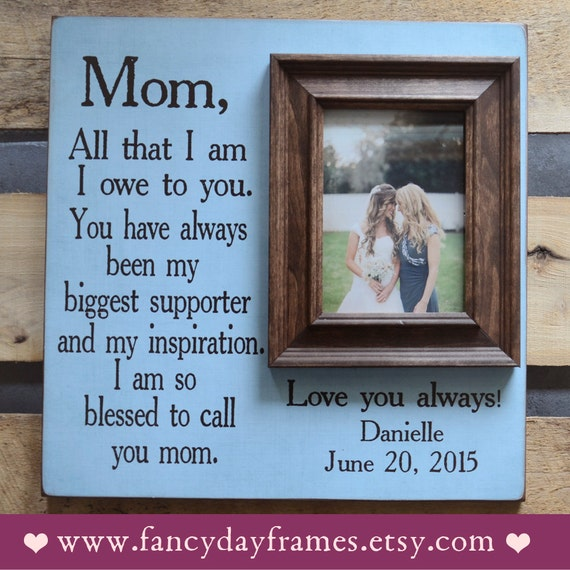 Meaningful Wedding Gift For Parents : ... Frame, Wedding Gift for Parents, Parent Thank You Gift Wedding, 16x16
