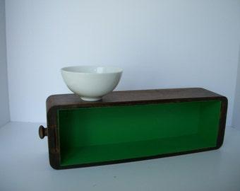 Sewing Machine Cabinet Drawer - Wood Drawer - Vintage Sewing Cabinet Drawer