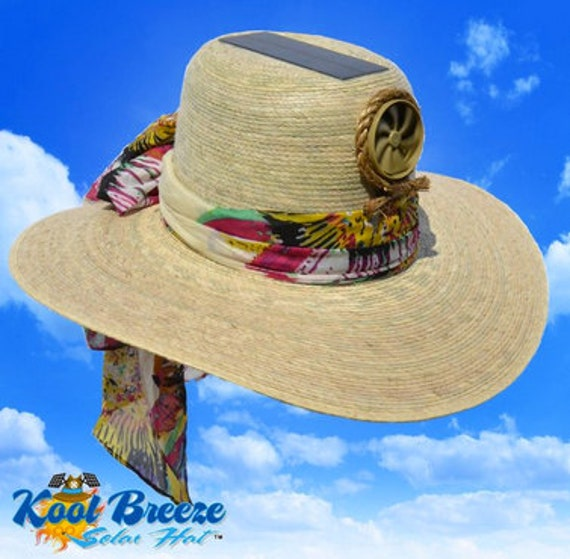Cooling Palm Sun Hat - Lady's Floppy