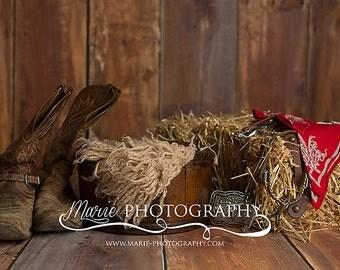Instant Download newborn backdrop! cowbow western digital backdrop