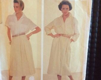 Vogue patterns American Designer 1320 Calvin Klein size 12
