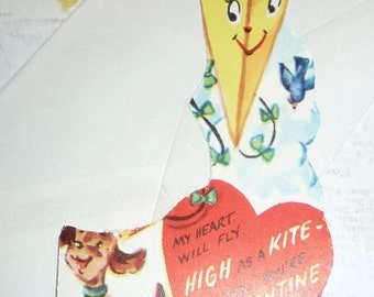 My Heart Will Fly as High as a Kite When You Are My Valentine