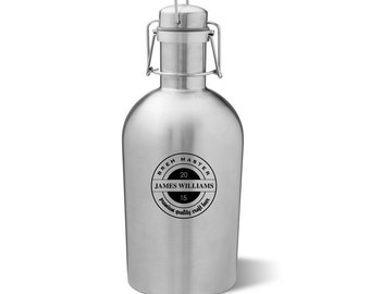 Beer Growler Etsy