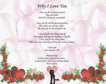 Valentine's Poem Why I Love You