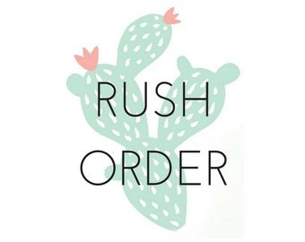 Rush Order - 24 Hours Processing Time