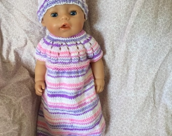 Baby born doll dress