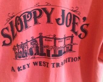 Vintage Sloppy Joe's Key West shirt