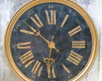 Big wall clock hand manufacturing, zinc and gold